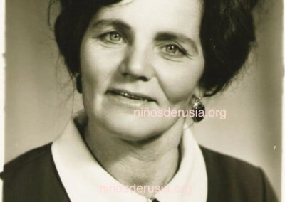 Clara Spanskaia, de Leningrado