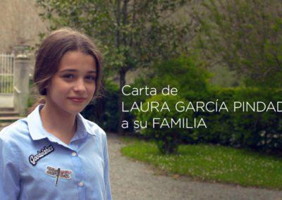Carta de Laura García Pindado