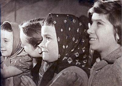 Esmeralda González, en el centro de la imagen