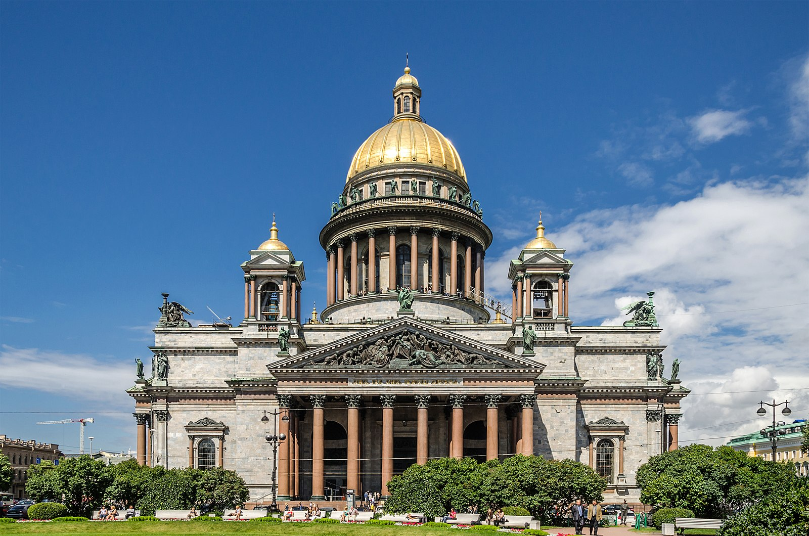 "Catedral de San Isaac, San Petersburgo. Por Alex ""Florstein"""