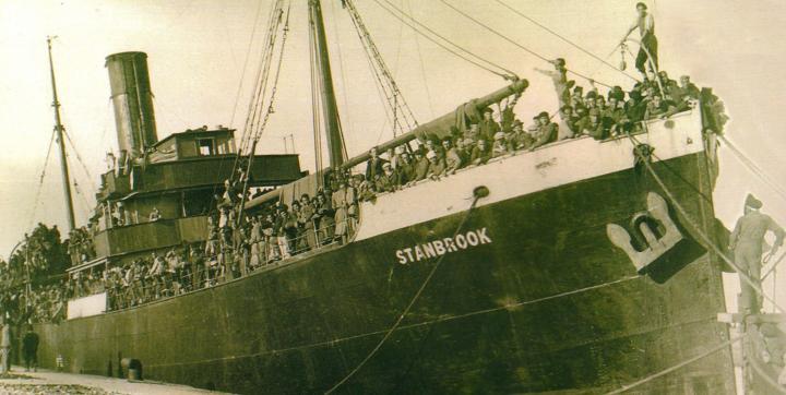 Buque Stanbrook, Compañía France Navigation