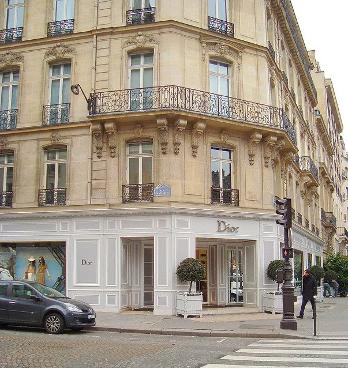 Establecimiento de Christian Dior, en París