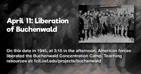 Liberación del campo de Buchenwald.
