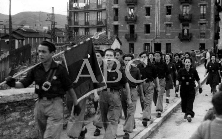 Españoles capturados por los alemanes en la URSS (1942-1943)