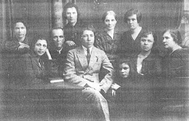 El personal docente de la Casa de Jersón/Tundrija.