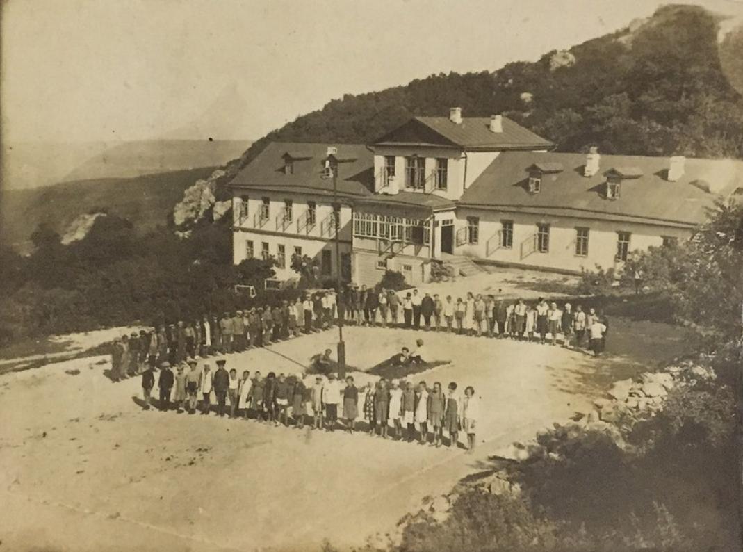 """Casa en la ladera del Beshtau, Piatigorsk. 1934 o """"años 40"""" (?)"""