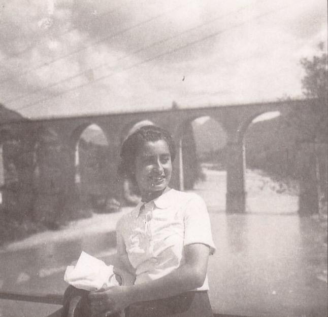 Isabel Aira, 1939.