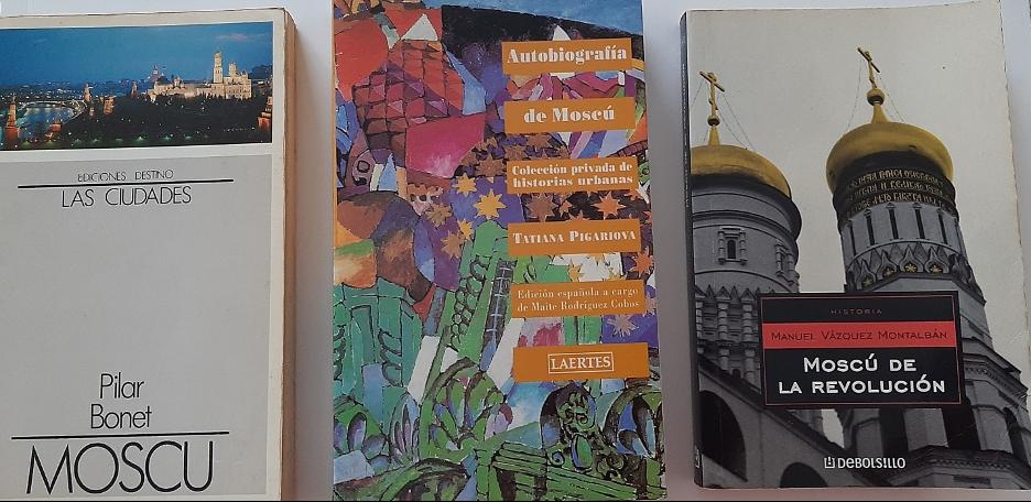 Tres guías especiales para la visita de Moscú