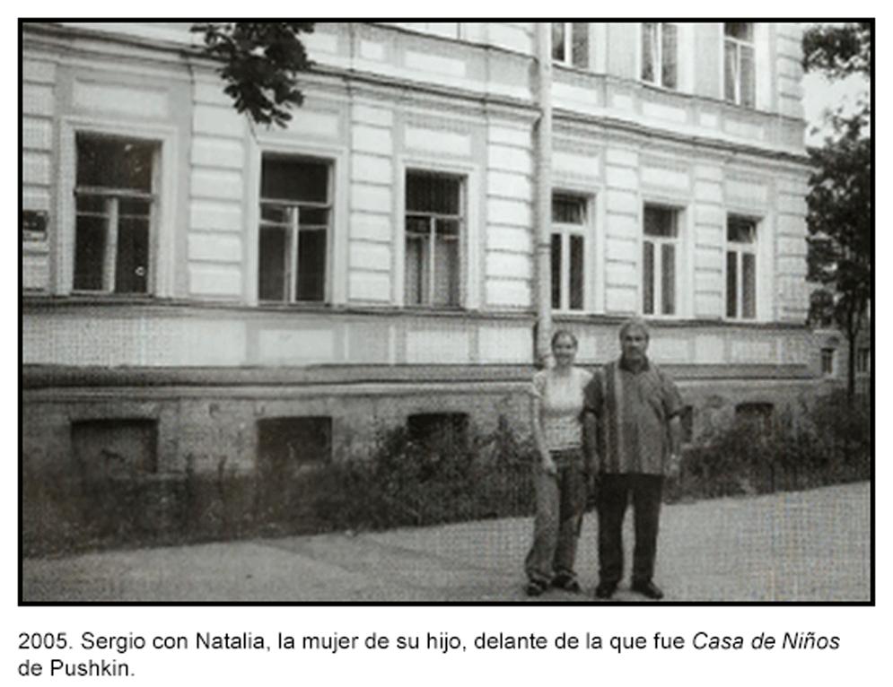 Casa de Pushkin. Imagen procedente del archivo personal de Sergio Salueña.