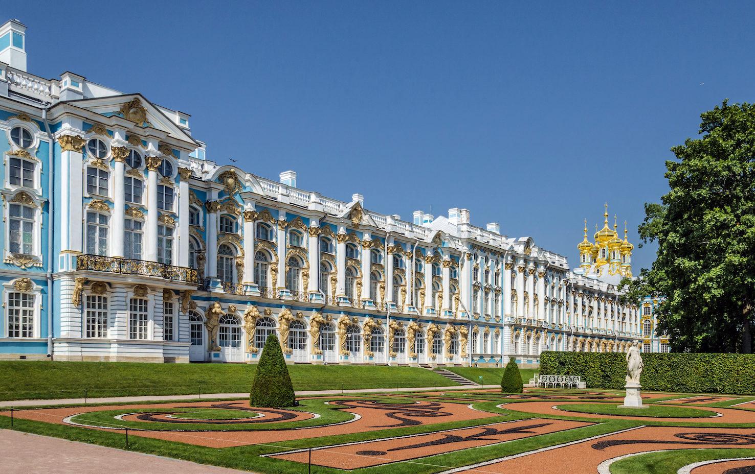 Palacio de Catalina en Tsárskoye Seló, de Florstein