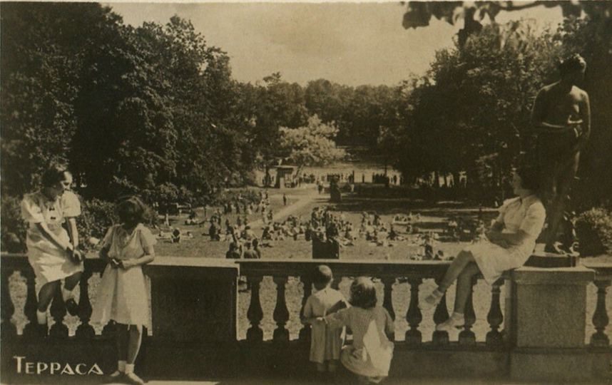 Jardines de Tsárskoye Seló, 1938, de Брейткас Михаил