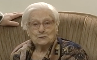 Emilia Fernández, 96 años, condecorada por la Unión de Veteranos de Rusia