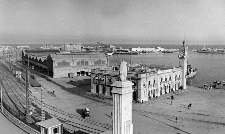 Puerto de Valencia, hacia 1932