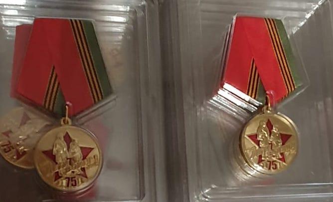 Merecidas medallas