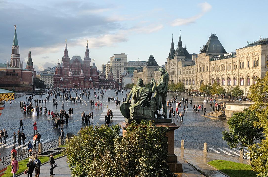 Plaza Roja, Moscú. Imagen: Christophe Meneboeuf.