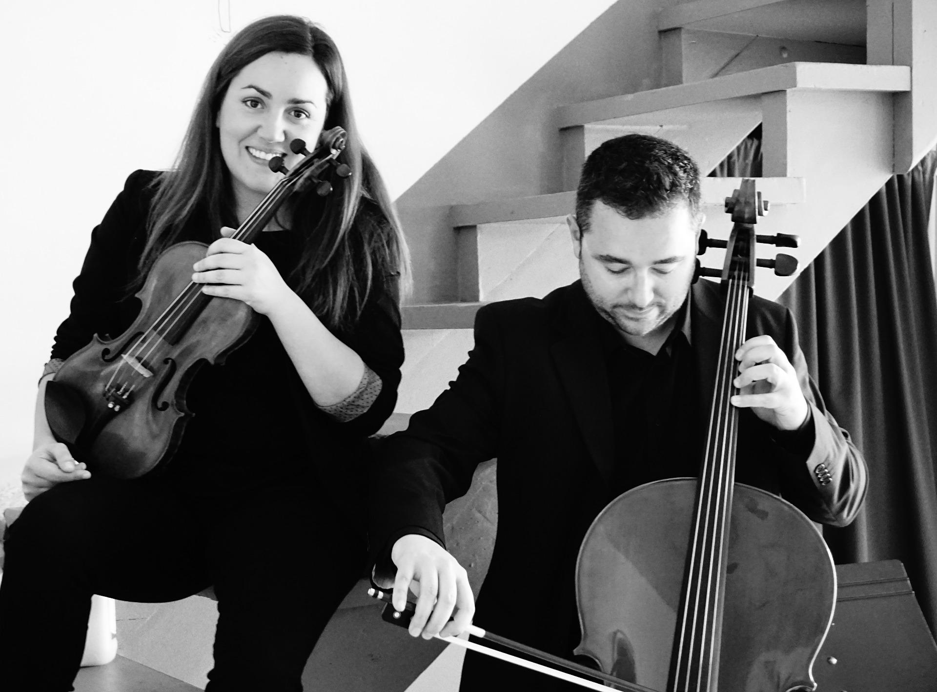 Ana Fernández Hernández  e Ignacio Alonso Canteli, Duo Amati.