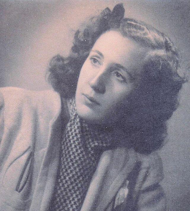 Carmen de los Llanos, 1942.